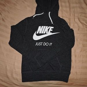 Womens Nike Organic Cotton Blend Hoodie just do it
